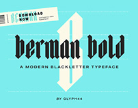 Berman Bold | Blackletter Typeface