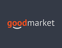 "Logo for online store ""Goodmarket"""