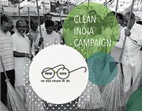 Clean India Campaign - Interactive Art Installations