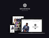 BROMMON (website design and build)