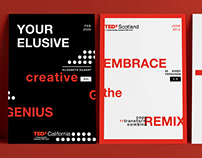TEDx Posters - Layout Design