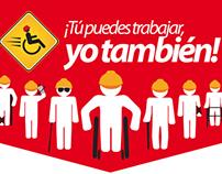"""""""¡Tú puedes trabajar, yo también!"""" DTPS Campeche"""