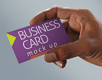 Professional & Photorealistic Bussiness Card Mock up