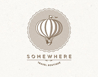 Somewhere Travel Logo