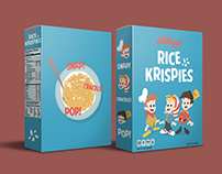 Rice Krispies Cereal Redesign Concept