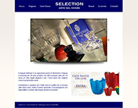 Selection // Gift shop website