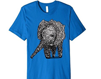 Baby elephant t-shirt is too cute to miss