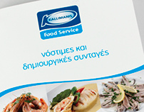 Kallimanis Food Service chef's book