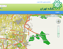 Tehran Map Redesign - نقشه تهران