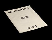 APROXIMACIONS NÚM.1
