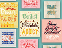 Your Dentist is Lettering