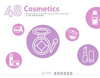 Cosmetics Premium Vector Icons
