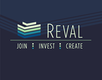 Corporate Design: Reval Real Estate Crowdinvesting