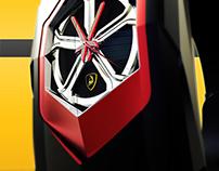 Lamborghini sesto elemento tempo macchina