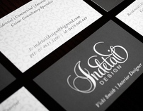 Indetail Design | Identity :: KRUSH DESIGN