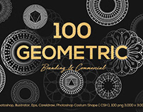 100 Geometric Shapes by Sagesmask