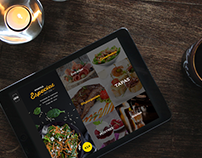 Mundo Guía - UI design for restaurants app