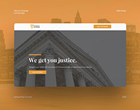 Attorney Landing Page Concept (Highlevel)