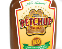 Petchup company branding