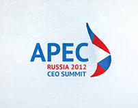 APEC CEO Summit, 2012. Design for screens