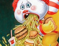 Garbage Pail Kids illustrations