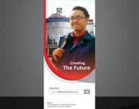 Telkom University xBanner Design