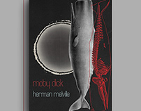 Moby Dick - Book Cover Design