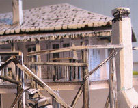 Scale model for the film location