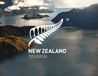 Tourism New Zealand - Web Design