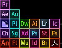 Adobe Periodic Table