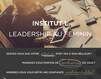 Encart publicitaire | Institut L