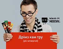 Nescafe IdeaX4 Banners
