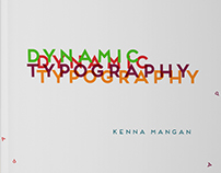 Obsessions Book: Dynamic Typography