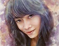 Marissa Sukendar Painting