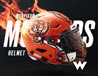 NFL Speedflex Helmet Mockup PSD & Tutorial