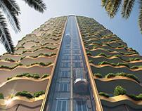 Conceptual residential apartment