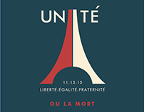 Unité . Paris Attack 2015