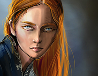 SANSA STARK. SONG OF ICE AND FIRE. GEORGE MARTIN