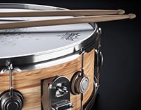 Snare Drum CGI