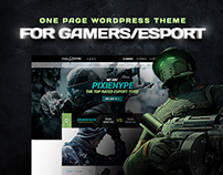 PixieHype |  WordPress theme for Gamers/eSport