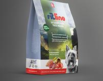 FITLINE Köpek Maması Ambalaj Tasarımı