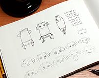 Diseño de personaje Toto