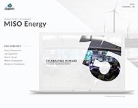 Miso Energy Microsite Design