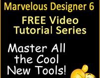 FREE Marvelous Designer 6 Video Tutorials & Review