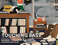 Touching Bass flyers