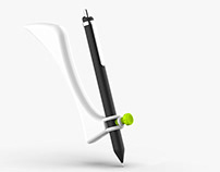 felef | a writing aid for left handed people