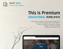 Easy-Edu Education HTML Template