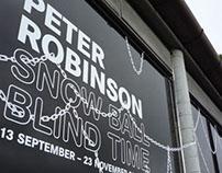 Peter Robinson Exhibition Branding