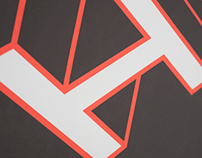 Typographic Dissertation poster
