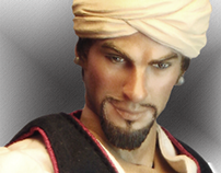 Sinbad Figure Go Hero